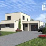 Modèle de maison neuve
