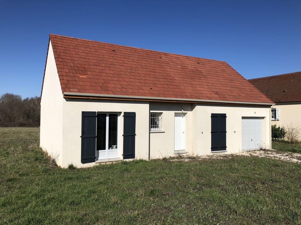 Maisons individuelles Modèle Sougères plain pied